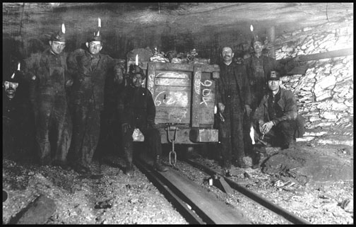 Shaft #6 Pennsylvania Coal Co - Pittston - 1911
