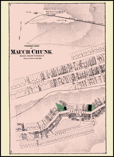 Western Part of Mauch Chunk
