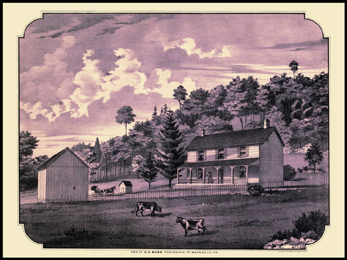 Residence of Ed Bush,Tobyhanna