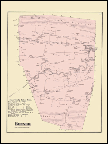 Benner Township,Roopsburg,Rock,Fillmore