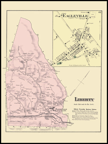 Liberty Township,Eagleville