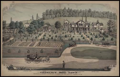 Chestnut Hill Lawn,Residence and Grounds of A.R. Black,Beaver Township,Near Elk City