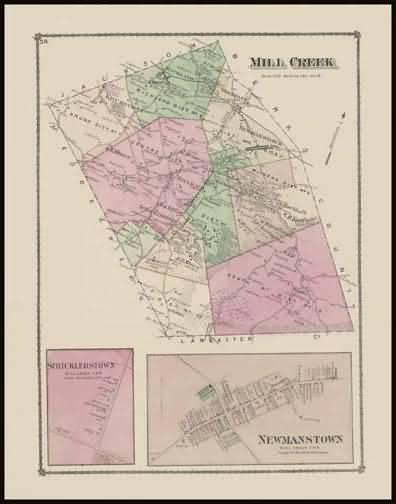 Mill Creek Township,Stricklerstown,Newmanstown