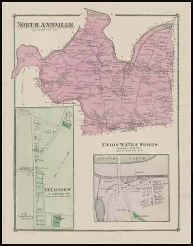 North Anville Township,Union Water Works,Belleview
