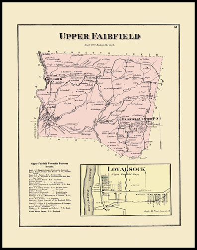 Upper Fairfield Township,Loyalsock