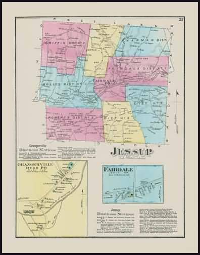Jessup Township,Grangerville Ruse,Fairdale